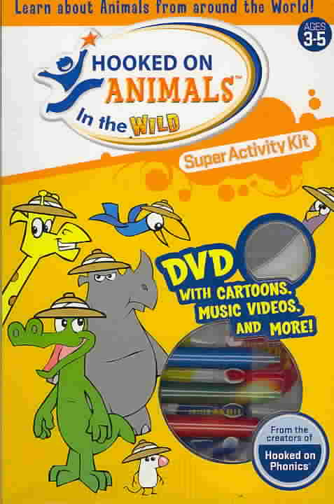 HOOKED ON ANIMALS IN THE WILD SUPER A (DVD)